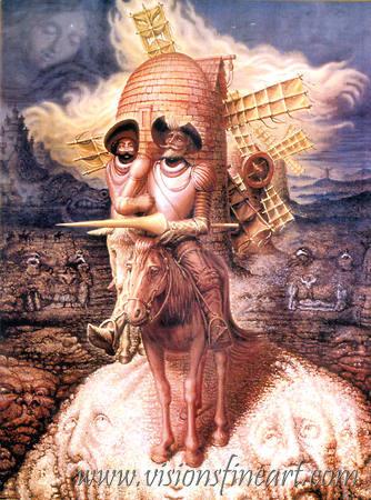 """Octavio Ocampo, """"Visions of Quixote"""""""
